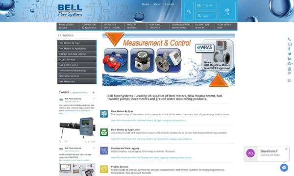 Bell Flow Systems Homepage
