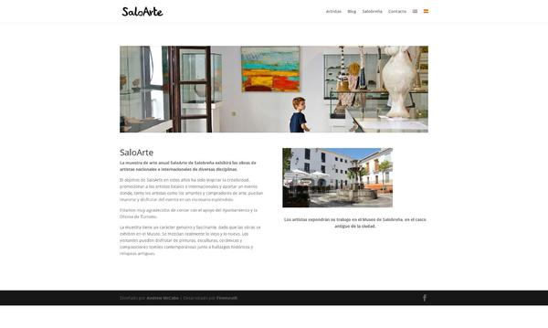 SaloArte Homepage