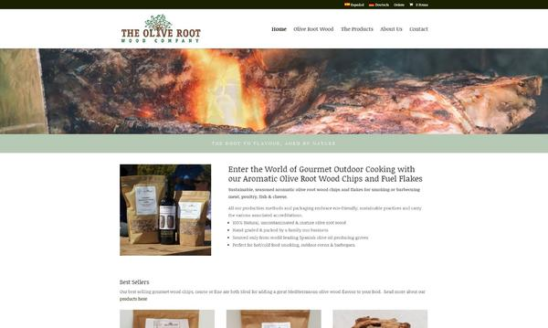 The Olive Root Wood Company Homepage
