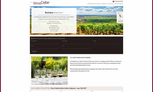 The Wine Cellar Red Bank Homepage
